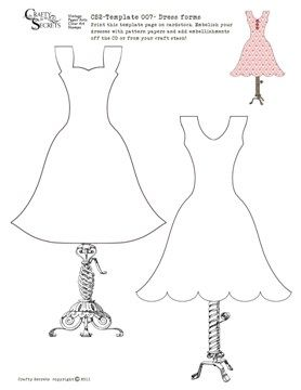 149 best images about dress templates on Pinterest