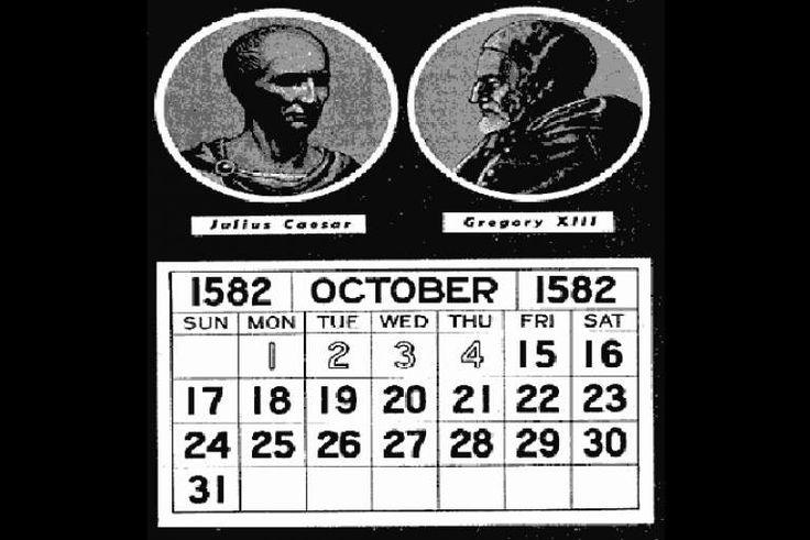 Η 4η Οκτωβρίου 1582 ήταν η τελευταία ημέρα του Ιουλιανού Ημερολογίου.  Η αμέσως επόμενη ημέρα και 1η του Γρηγοριανού Ημερολογίου ήταν η...
