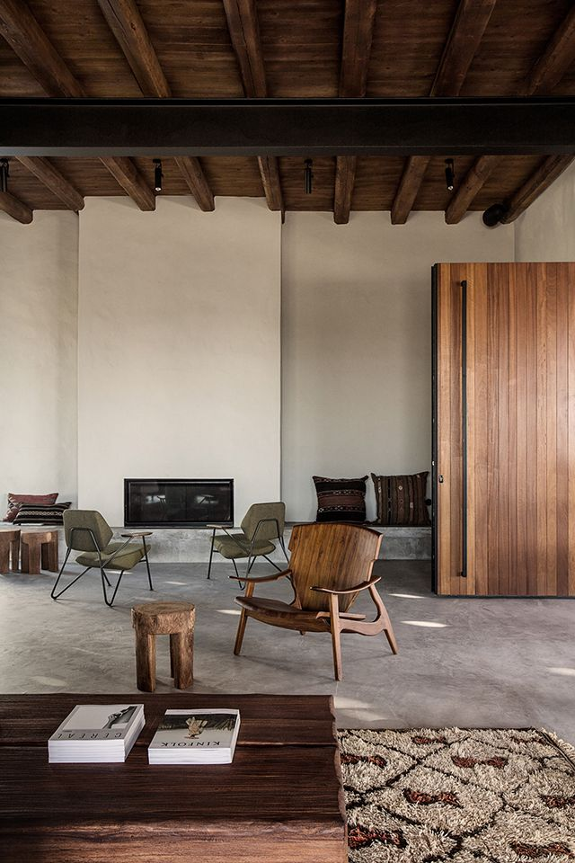 INSPIRATION: Casa Cook Kos in Greece is now firmly on our destination list. Clean lines, raw natural textures & warm timber tones are a winning combination | est living