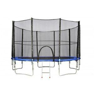 Trampolina ogrodowa z siatką ATHLETIC24 - do skakania dla dzieci i dla dorosłych. #trampolina