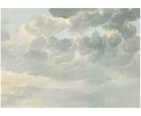 Verleihen Sie Ihren Wänden einen neuen Look. Die Fototapete Golden Age Clouds mit Wolken-Motiven in Grau, Beige und Creme und weitere Tapeten von KEK AMSTERDAM auf >> WestwingNow.