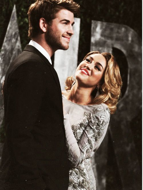 Miley Cyrus and Liam Hemsworth. Miley screwed that on up big time. They were Perfect.