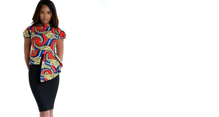 bhfshoppingmall: Alero Print Top This jacket is a must for all brave, fashion aware women out there. Perfect with a dress, jeans or pants! Made of African Print Fabric. Dry Clean only. $129.99 USD (Delivery-10 business days) ($15.00 USD SHIPPING)