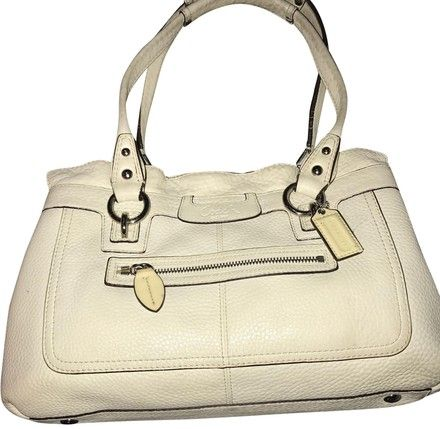 d8de034458f F14686 Penelope Pebble Beige Leather Satchel   Tradesy   Leather ...