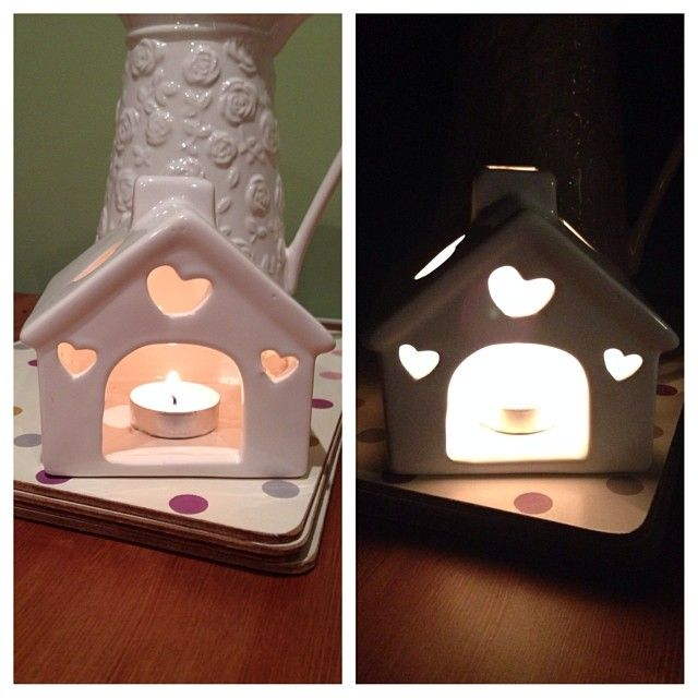 @suthers247: Love my little house #candles #house #hearts #cute #home #tealight 6