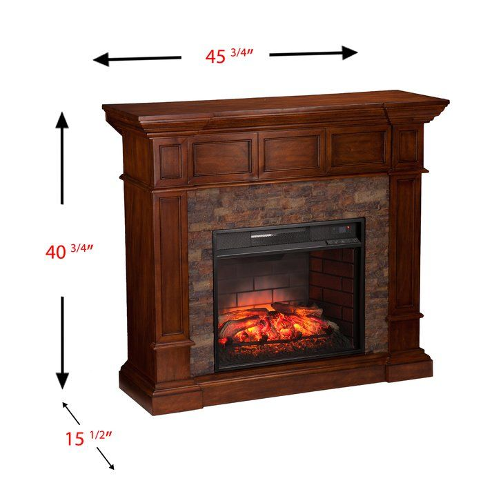 Add a rustic twist to traditional style in your living room, dining room or parlor when you place this electric fireplace against a flat wall or open up apartment-friendly corner functionality. Easy-to-use corner convertible tab optimizes empty space. Dimensional woodwork adorns the pilasters, framing alabaster faux stacked stone. Bring rustic cottage chic in this crisp white electric fireplace. Why a quartz infrared fireplace is the right choice for you: Energy efficient, fan-forced quartz…