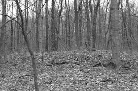 An Indian mound builders stone walled subterranean sweat lodge is discovered in Wabash County, Indiana