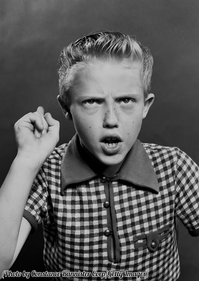 Christopher Walken at 10 years old, 1953.