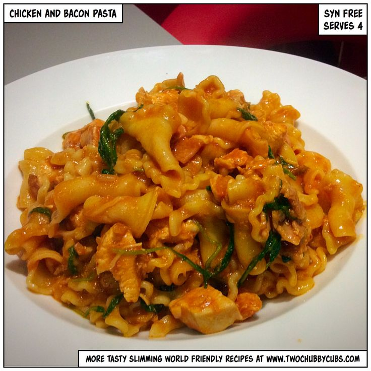 This syn free chicken and bacon pasta is quick to make and travels well for an easy lunch the next day. Also, a plea - learn first aid. You never know. Remember, at www.twochubbycubs.com we post a new Slimming World recipe nearly every day. Our aim is good food, low in syns and served with enough laughs to make this dieting business worthwhile. Please share our recipes far and wide! We've also got a facebook group at www.facebook.com/twochubbycubs - enjoy!