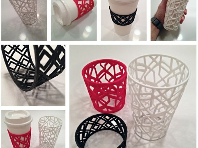 Custom Sleeve for Coffee and Tea Cups by sethmoser - Thingiverse