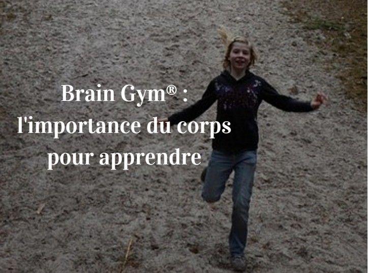 Une courte introduction à la Brain Gym® et quelques mouvements à reproduire facilement à la maison ou à l'école avec les enfants.