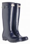 Hunter Wellington Original Tall Navy Wellies . I must have a pair of these!!
