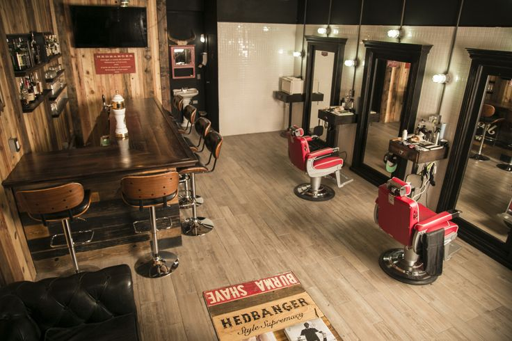 - We are so proud of our barbershop and whiskey...