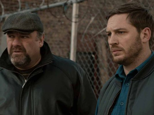   USA TODAY   James Gandolfini as Cousin Marv and Tom Hardy as Bob in our upcoming drama THE DROP
