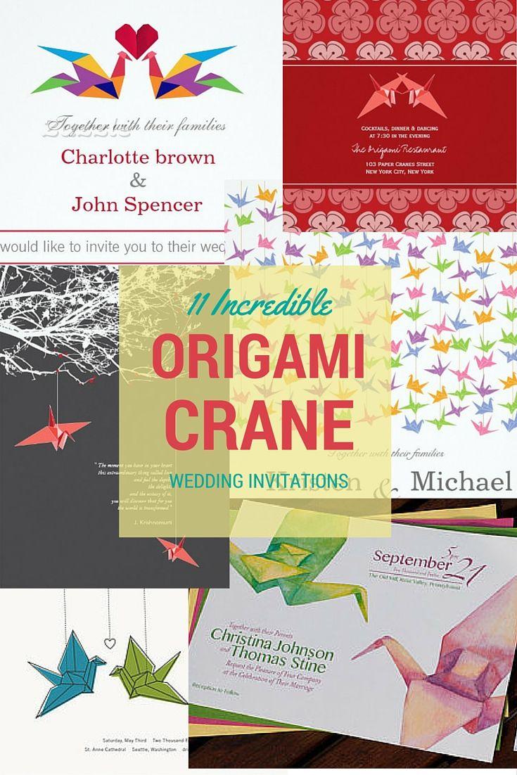 75 best Japanese Wedding Ideas images on Pinterest | Origami cranes ...