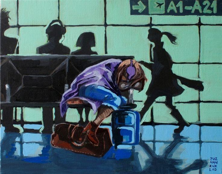 Zuzanna Walas, A1-A21, 2012 #art #contemporary #artvee