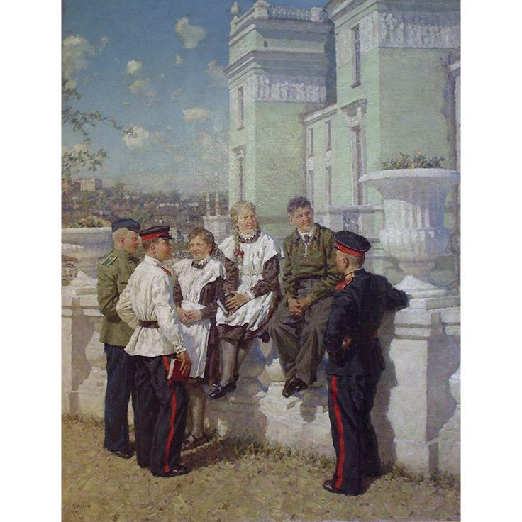 Зинов Виктор Семёнович (Россия, 1908-1991) «Юность»