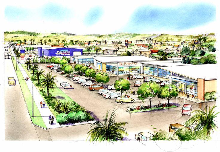 Whitianga retail centre