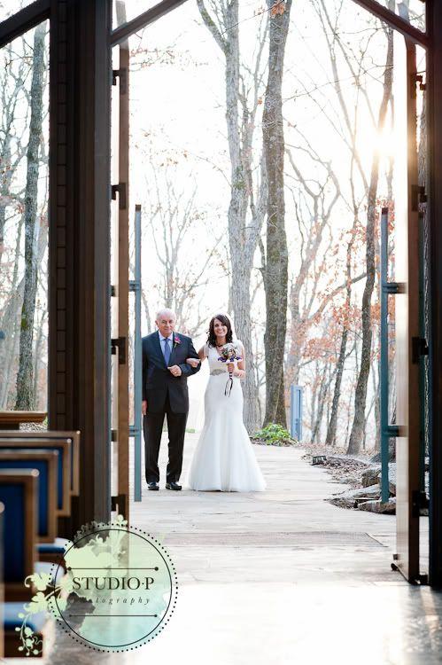 Thorncrown Chapel Wedding Crescent Hotel Reception