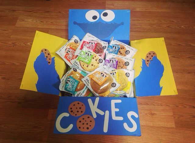 Cookie Monster care package
