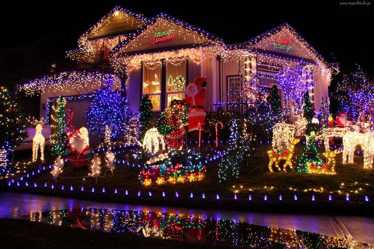 Święta Bożego Narodzenia, Dom, Światła