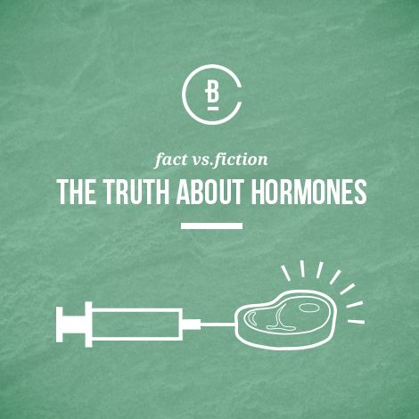 There are many myths surrounding hormones in meat. These are the most common myths about hormones.