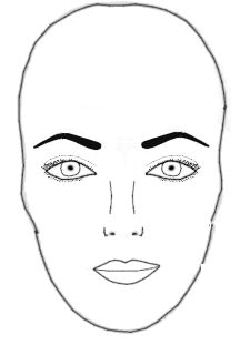 Eyebrow Shape can Change How Your Face Shape Looks. Find the best eyebrow shape for you.