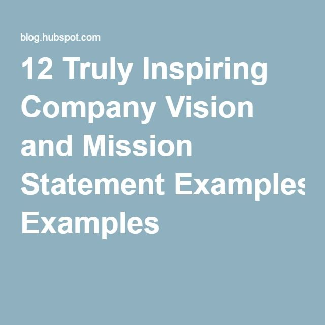 Best  Vision And Mission Examples Ideas On   Mission