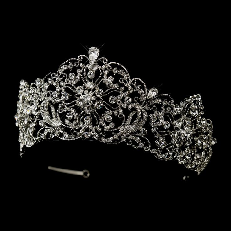 regal 2 12 high rhinestone wedding or quinceanera tiara