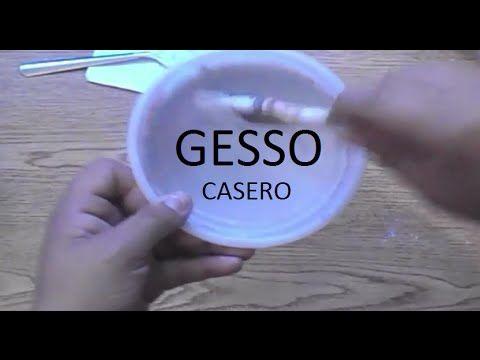 Tutorial: Gesso Casero FÁCIL Y ECÓNOMICO   Mundo@Party - YouTube