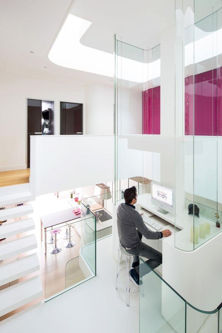 96 best modern home office images on Pinterest | Modern home ...