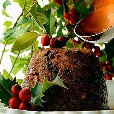 Christmas: North vs South An English Christmas lunch menu - @Delia Smith Traditional Christmas Pudding
