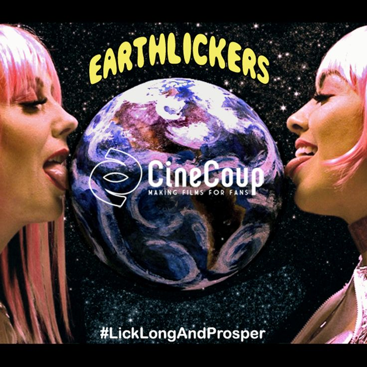 Love & Licks to CineCoup for creating this sexy platform to develop our sci-fi/erotica/comedy feature film!