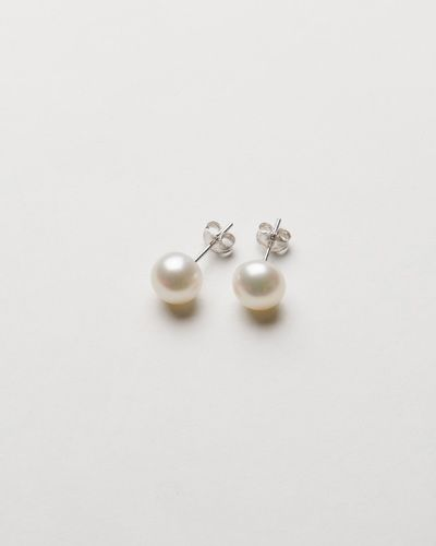 PEARL EARRINGS SMALL $24.00 AUD Simply stunning for any occasion that requires subtle elegance, adding just the right touch of sophistication and grace. A timeless classic and a treasure to be worn now and for generations to come, these petite and stunning  pearl earrings are handcrafted from freshwater pearls matched with a stunning silver stud. They measure 7mm and as they are made from a natural pearls making each piece wonderfully unique! 7mm FRESHWATER PEARL AND STERLING SILVER STUDS.