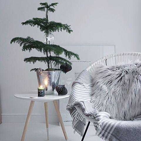 Simplistic Christmas decor