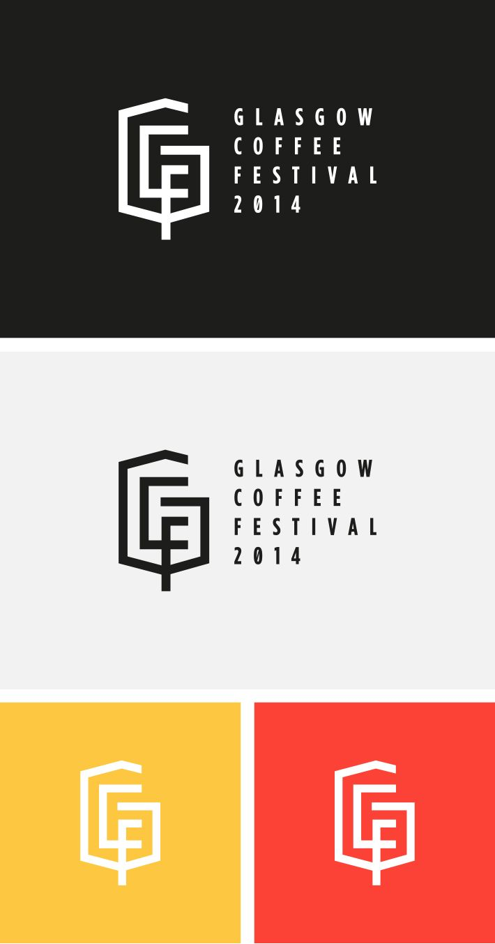 Glasgow Coffee Festival 2014 - Award-winning Graphic Design Agency, Glasgow | Branding and Logo Design