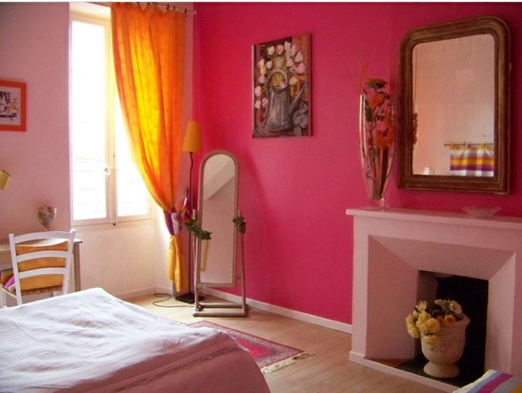 Hot Pink Room 499 best pink bedrooms for grown-ups images on pinterest | pink