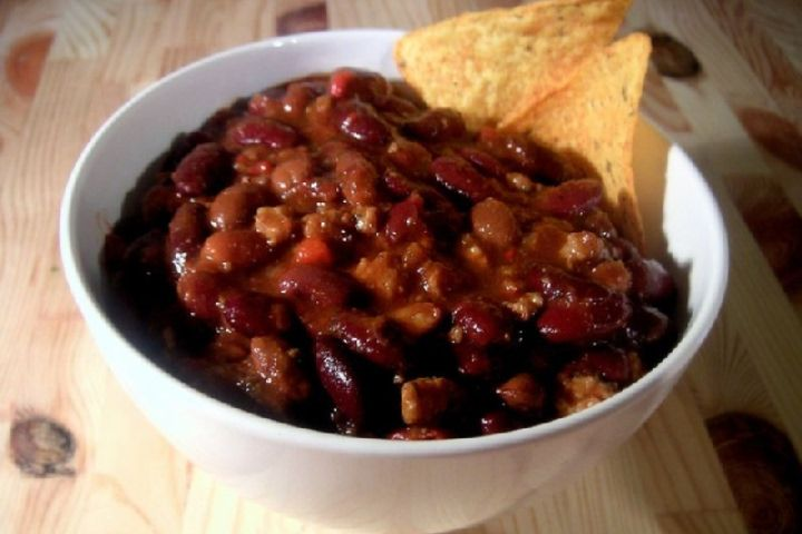 Pork, Beef, and Black Bean Chili | Food | Pinterest