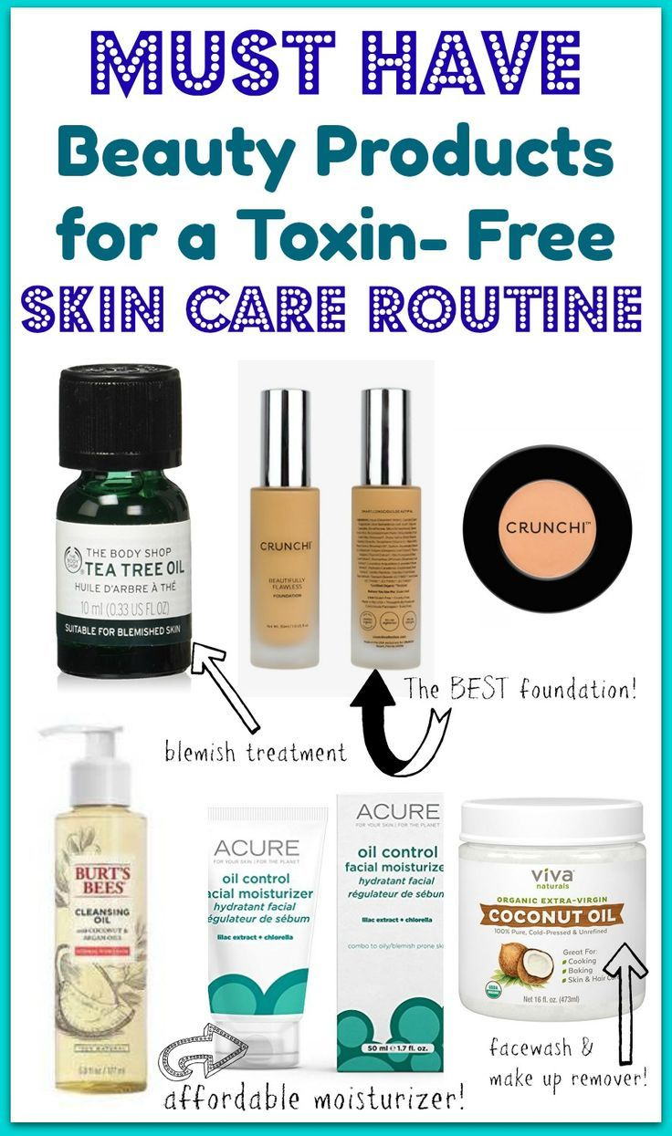 The Best ToxinFree Skin Care and Make Up Products Free