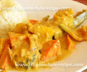 Fish Fillet Curry | Filipino Cuisine: Seafood ( Fish and Shellfish ...