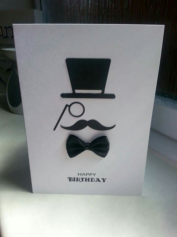 Vintage Gentleman dies, Trimcraft. Designed by Mandy @ Gifts From The Heart Creative Workshops