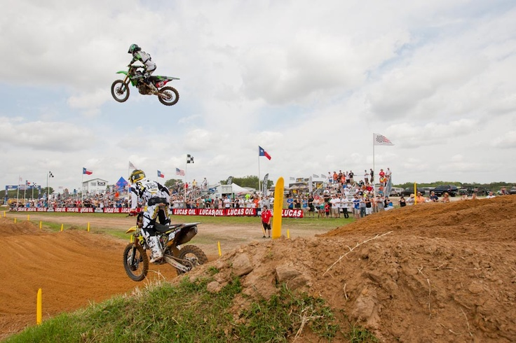 Picture 108450 « Freestone National MX – Practice Report | Features, Motocross, News, Photos | Transworld Motocross. Incredible skyshot of Blake Baggett!
