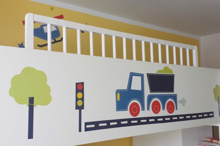 Coole #Wandaufkleber fürs Kinderzimmer <3  Fahrzeuge