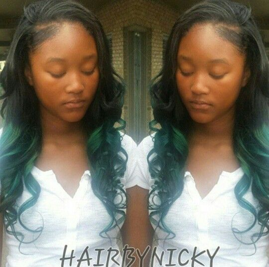 36 best hair by nicky images on pinterest hair hairstyles and sew deep side part sew in with a little color follow me on instagram for more pmusecretfo Gallery