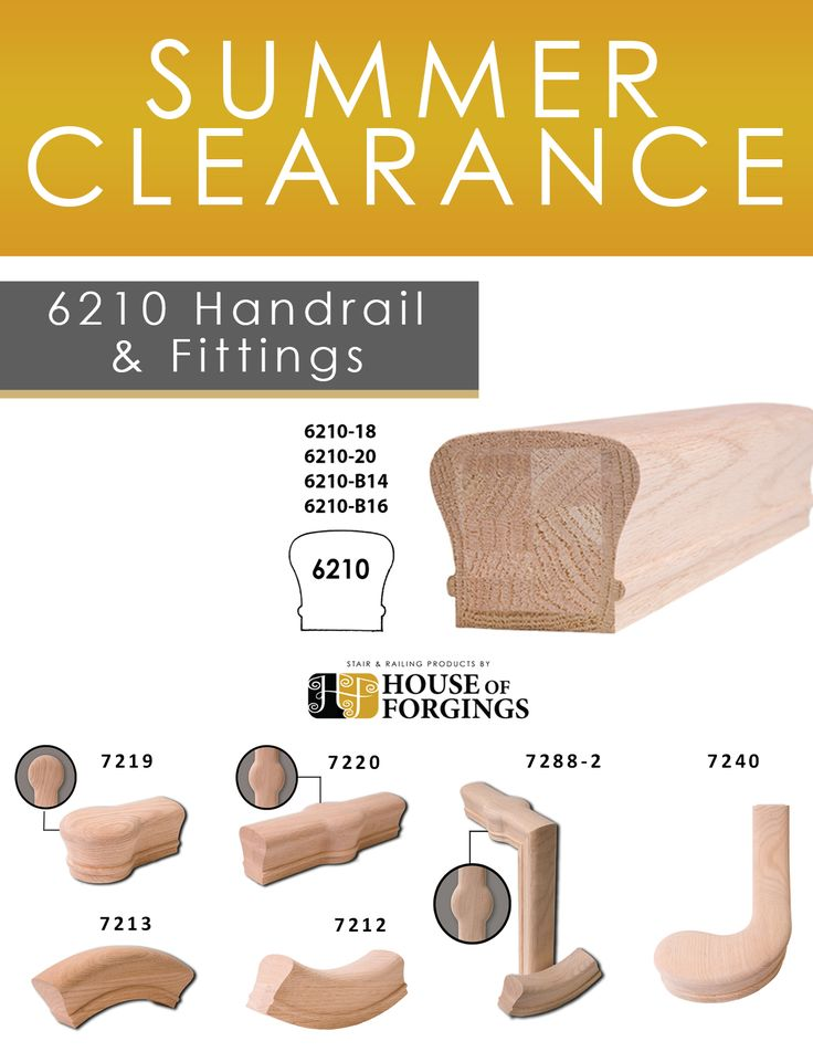 Best Summer Clearance Our 6210 Wide Series Handrail Profiles 400 x 300