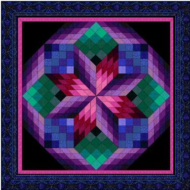 lone star quilt pattern | Free Star Quilt Patterns – Lone Star Quilt & more