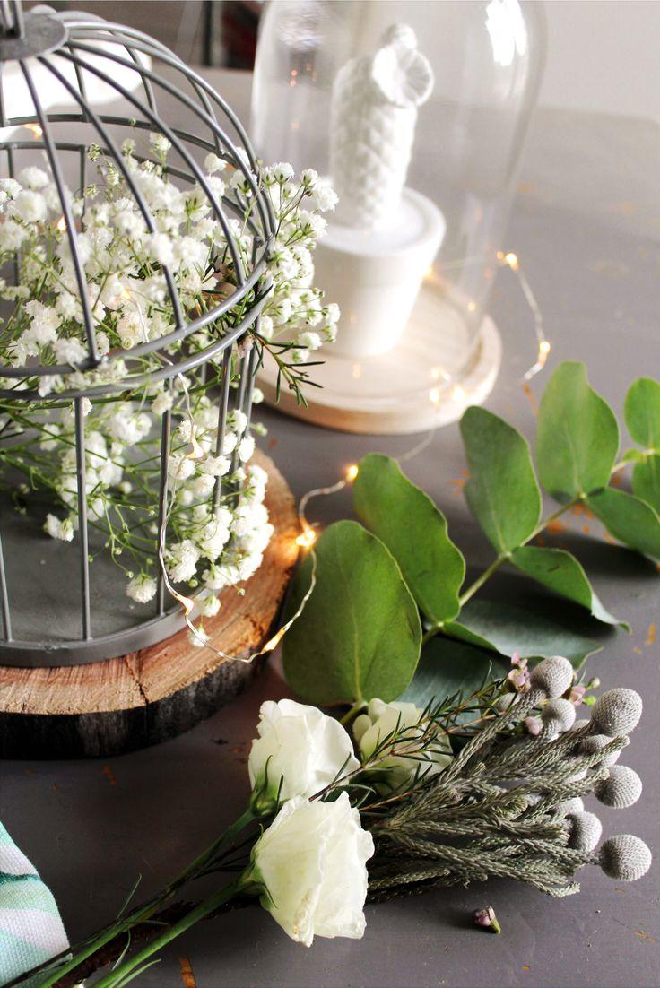 petite cage et cloche pour fleurs ou objets déco par mambilline