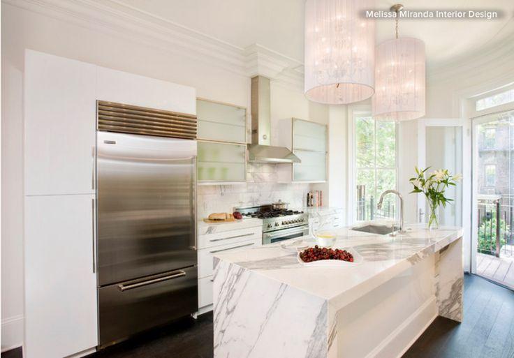 slab marble kitchen remodel