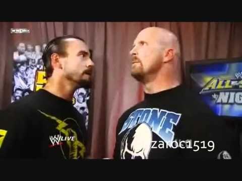 CM Punk Confronts Stone Cold Steve Austin Funny Backstage Segment WWE RAW 6/13/11
