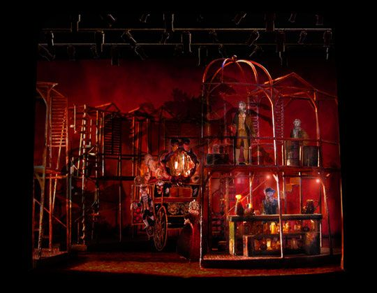 A Tale of Two Cities. Scenic Design by Tony Walton